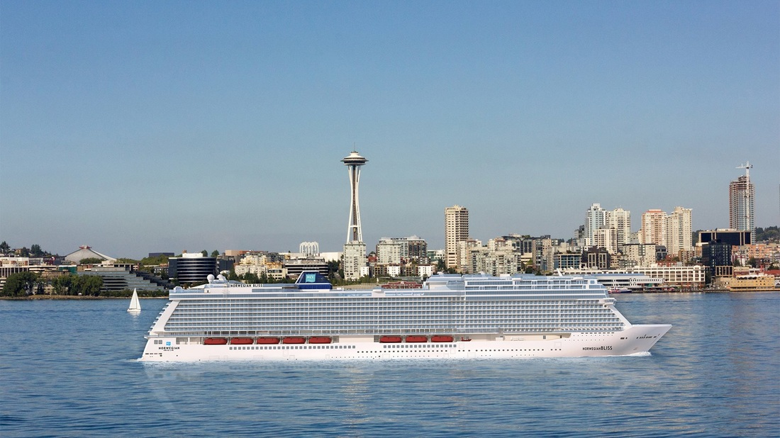 Norwegian Bliss To Sail From Seattle In And Offer Cruises To - Cruises from seattle
